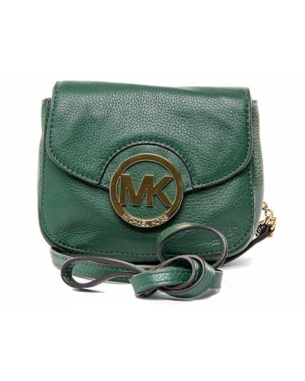 Сумка MICHAEL Michael Kors Small Fulton Crossbody Malachite