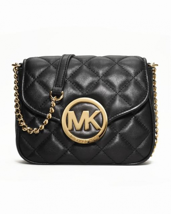 Сумка MICHAEL Michael Kors Small Fulton Quilted Crossbody Black