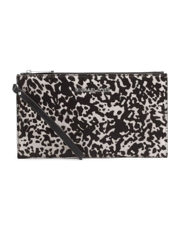 Косметичка MICHAEL Michael Kors Jet Set Travel Pouch Black / Optic White