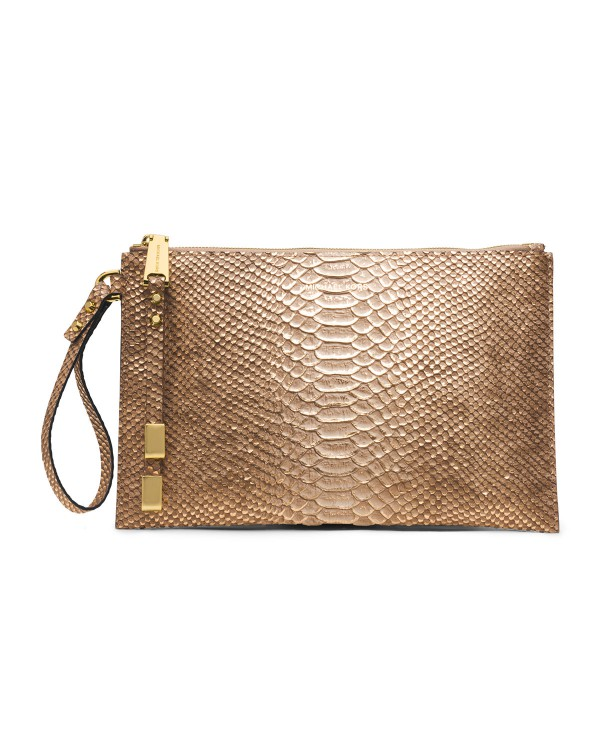 Клатч Michael Kors Large Harlow Zip Clutch Desert