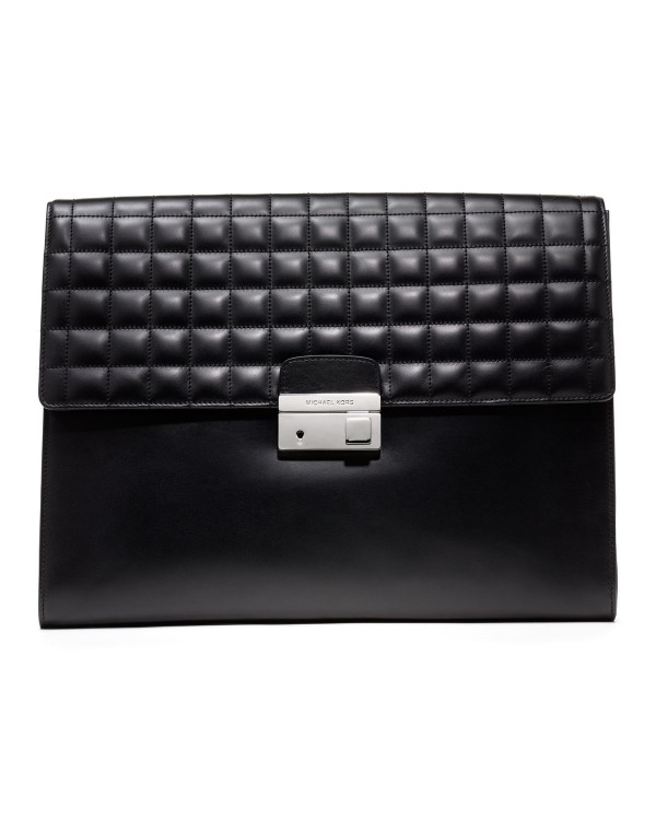 Клатч Michael Kors Extra Large Carrington Portfolio Black