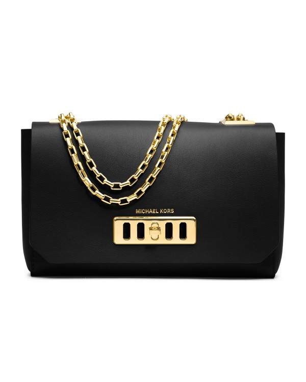 Сумка Michael Kors Vivian Shoulder Flap Bag Black