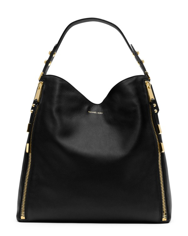 Сумка Michael Kors Miranda Zipper Shoulder Bag Black
