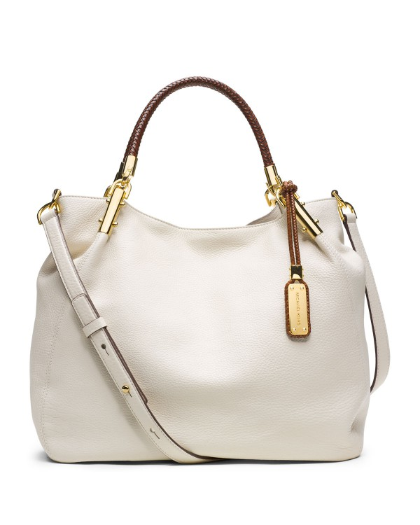 Сумка Michael Kors Large Skorpios Shoulder Bag Ecru