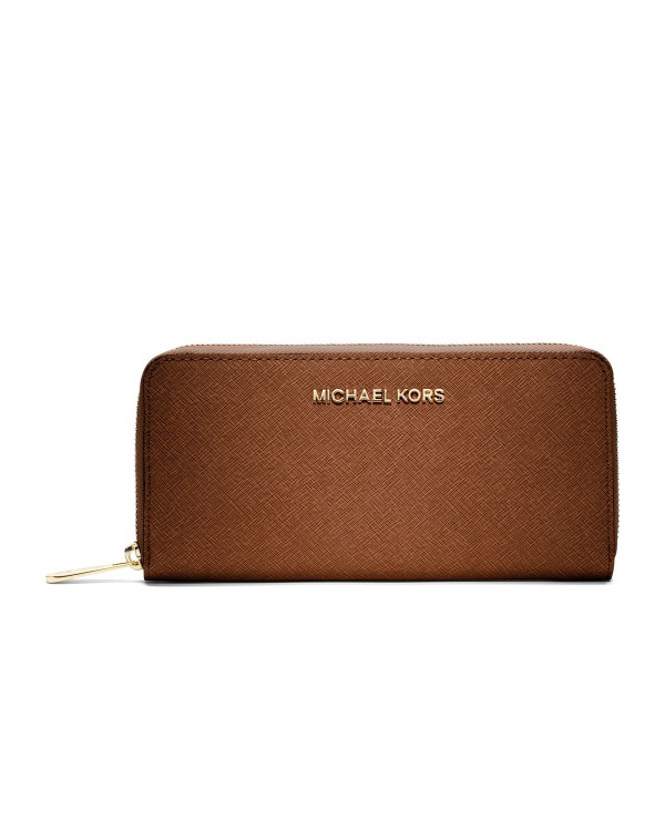 Кошелек MICHAEL Michael Kors Jet Set Saffiano Continental Wallet Luggage