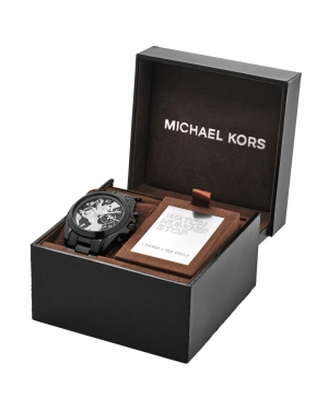 Часы Michael Kors Watch Hunger Stop Oversized Bradshaw 100 Black-Tone Watch MK6271