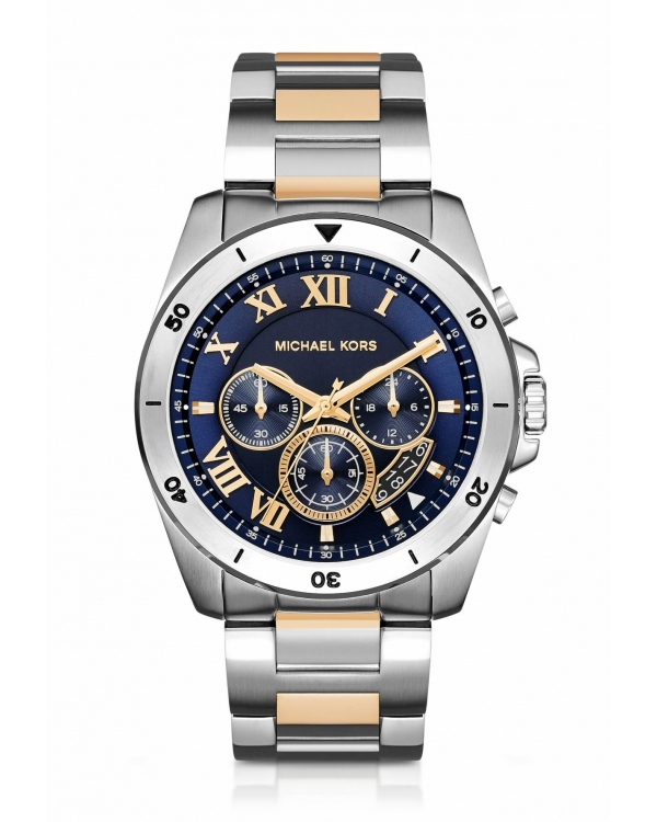 Часы Michael Kors Brecken Two-Tone Stainless Steel Watch MK8437