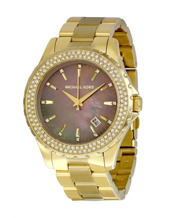 Часы Michael Kors Runway Mother of Pearl Ladies Watch MK5452