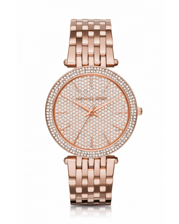 Часы Michael Kors Darci Pave Rose Gold-Tone Watch MK3439