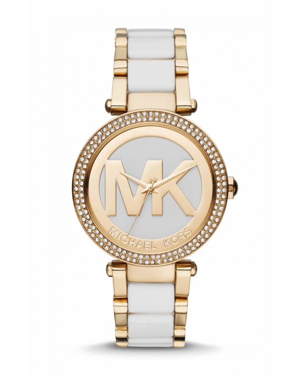 Часы Michael Kors Parker Gold-Tone and Acetate Watch MK6313