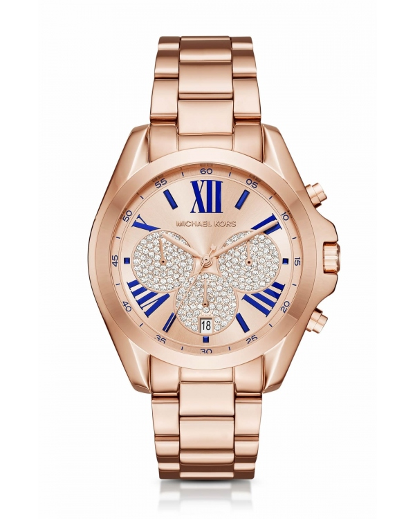 Часы Michael Kors Bradshaw Rose Gold-Tone Watch MK6321