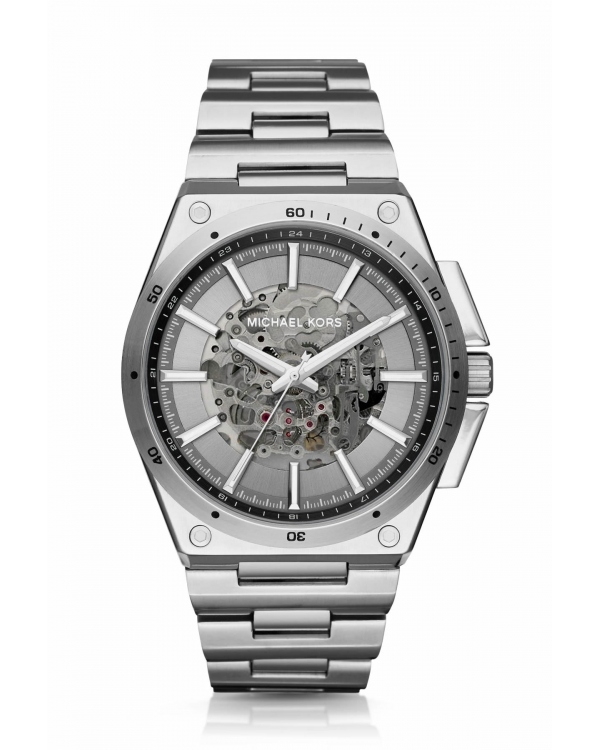 Часы Michael Kors Wilder Automatic Silver-Tone Watch MK9021