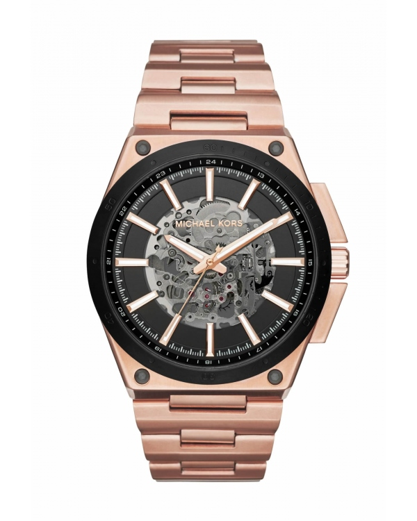 Часы Michael Kors Wilder Automatic Rose Gold-Tone Watch MK9022