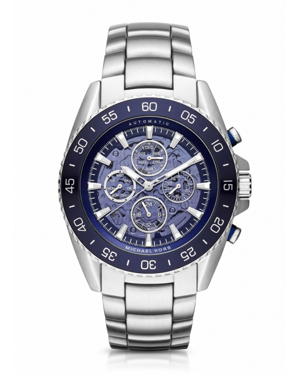 Часы Michael Kors JetMaster Automatic Silver-Tone Watch MK9024