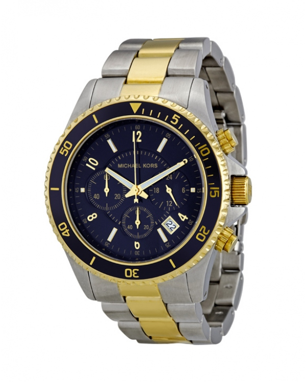 Часы Michael Kors Jet Set Chronograph Two-tone Watch MK8175