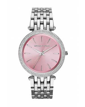 Часы Michael Kors Darci Pink Dial Stainless Steel Watch MK3352