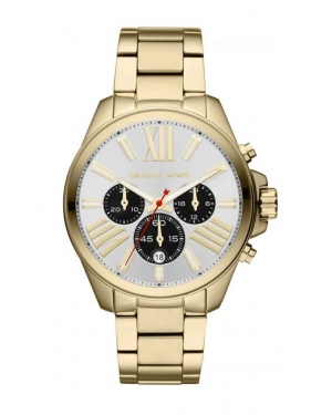 Часы Michael Kors Wren Chronograph Gold-Tone Watch MK5838