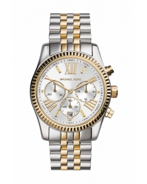 Часы Michael Kors Lexington Two-Tone Stainless Steel Chronograph Watch MK5955