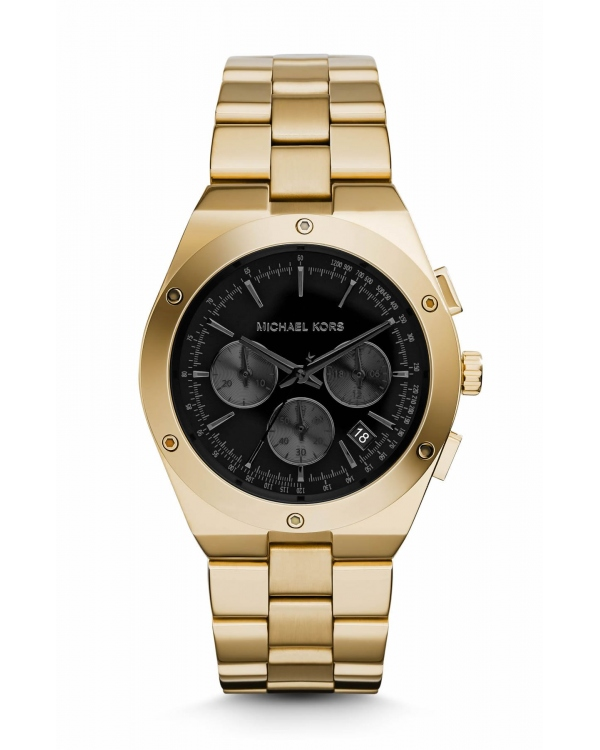 Часы Michael Kors Reagan Chronograph Gold-Tone Watch MK6078