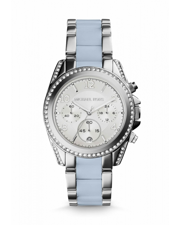 Часы Michael Kors Blair Silver-Tone Acetate Watch MK6137