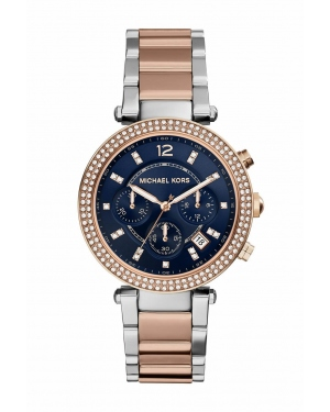 Часы Michael Kors Parker Blue Dial Two-tone Watch MK6141