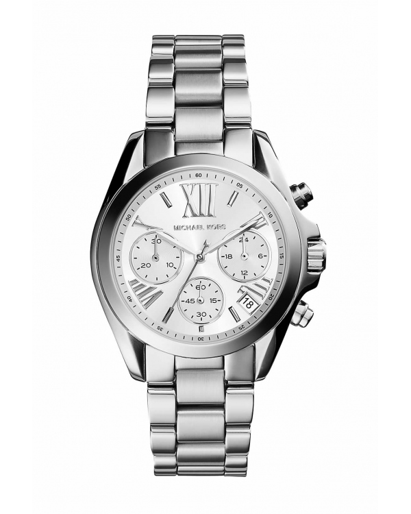 Часы Michael Kors Bradshaw Silver-Tone Stainless Steel Watch MK6174