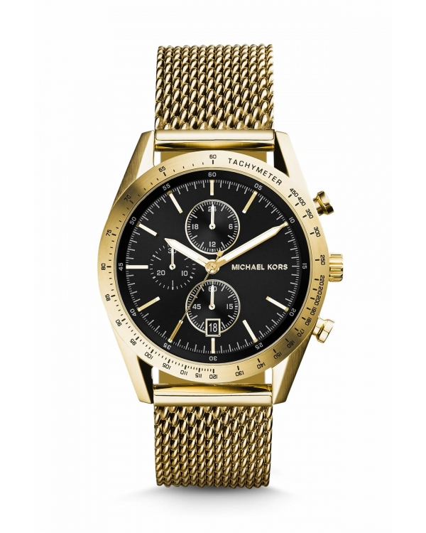 Часы Michael Kors Accelerator Gold-Tone Watch MK8388