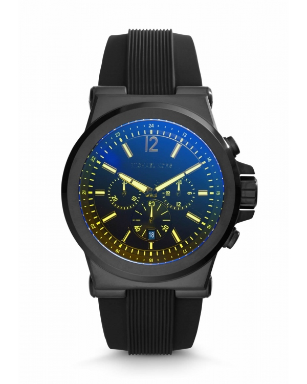 Часы Michael Kors Dylan Black Silicone Watch MK8406