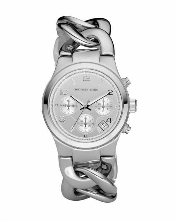 Часы Michael Kors Runway Twist Silver-Tone Stainless Steel Watch MK3149