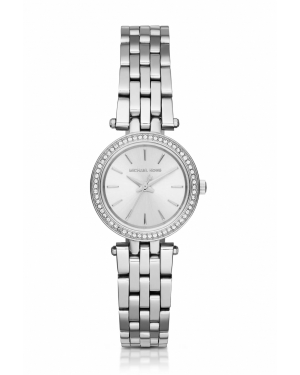 Часы Michael Kors Darci Petite Pave Silver-Tone Stainless Steel Watch MK3294