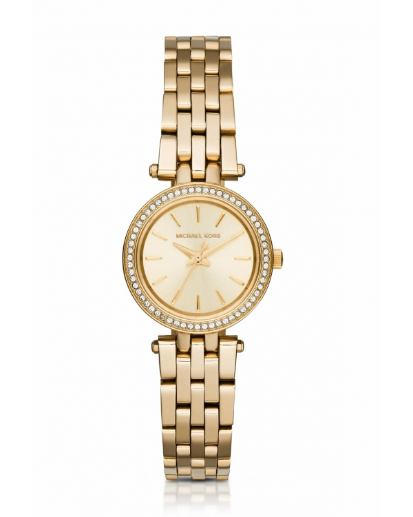 Часы Michael Kors Darci Petite Pave Gold-Tone Stainless Steel Watch MK3295