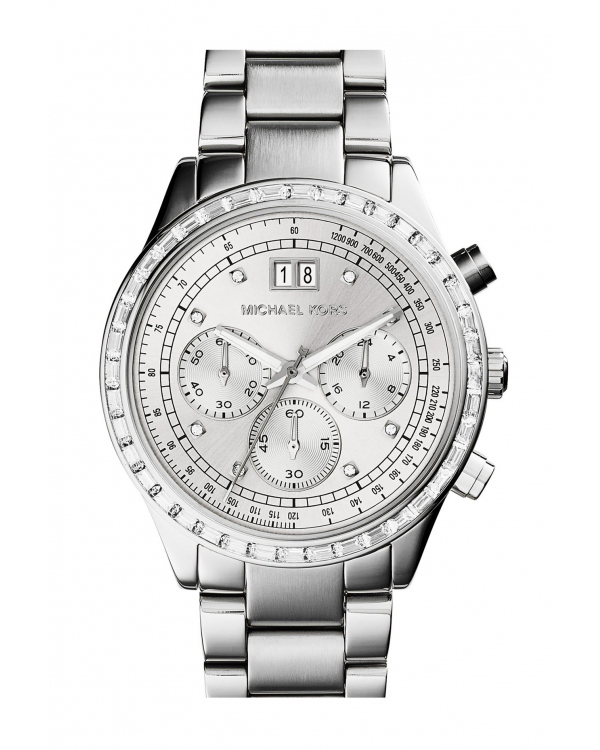 Часы Michael Kors Brinkley Silver-Tone Watch MK6186