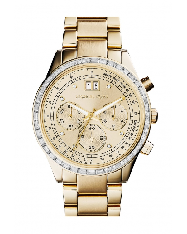 Часы Michael Kors Brinkley Gold-Tone Watch MK6187