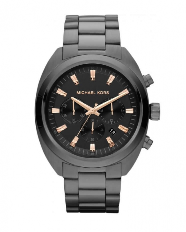 Часы Michael Kors Dean Gunmetal Tone Stainless Steel Watch MK8276