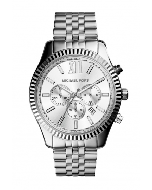 Часы Michael Kors Lexington Silver-Tone Stainless Steel Watch MK8405