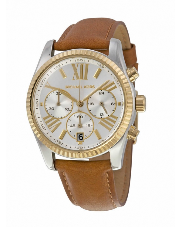 Часы Michael Kors Lexington Two-Tone And Leather Watch MK2420