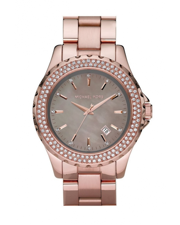 Часы Michael Kors Runway Grey Mother of Pearl Ladies Watch MK5453