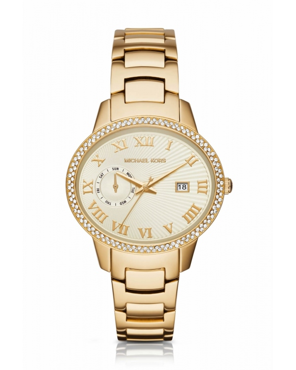 Часы Michael Kors Whitley Pave Gold-Tone Watch MK6227