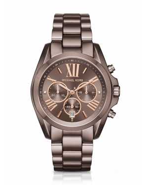 Часы Michael Kors Oversized Bradshaw Rose-Gold-Tone Sable Watch MK6247