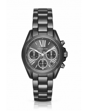 Часы Michael Kors Mini Bradshaw Gunmetal-Tone Watch MK6249