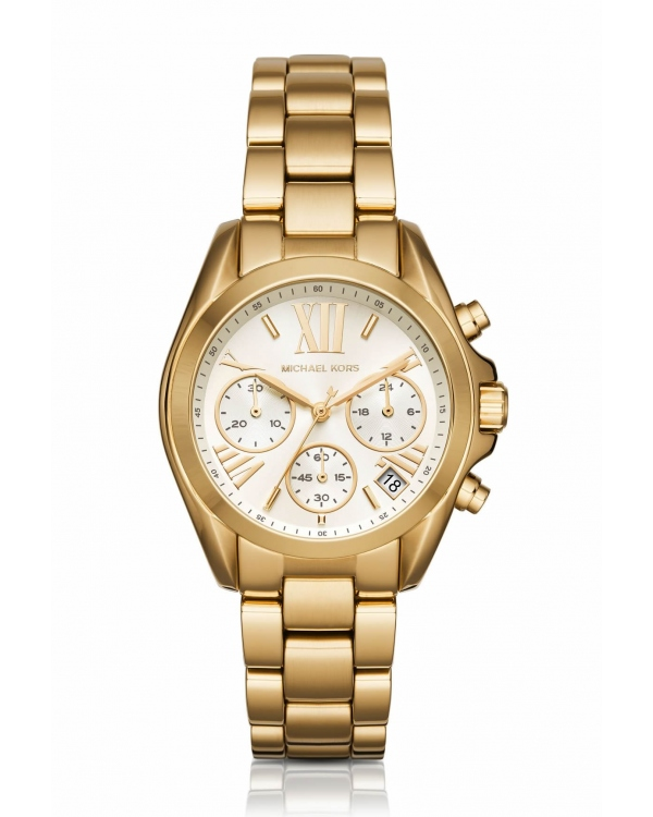 Часы Michael Kors Mini Bradshaw Gold-Tone Watch MK6267