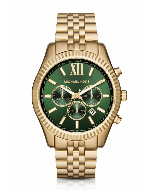 Часы Michael Kors Lexington Gold-Tone Watch MK8446