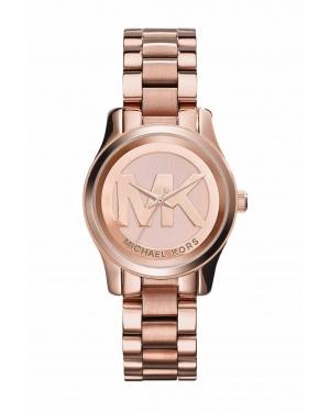 Часы Michael Kors Runway Mini Rose Gold-tone Watch MK3334