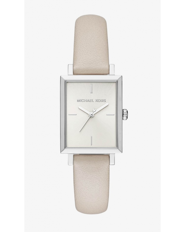Часы Michael Kors Harway Silver-Tone And Leather Watch MK2598