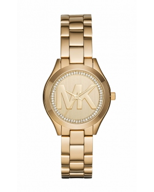 Часы Michael Kors Mini Slim Runway Gold-Tone Watch MK3477