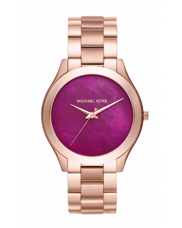 Часы Michael Kors Slim Runway Rose Gold-Tone Watch MK3550