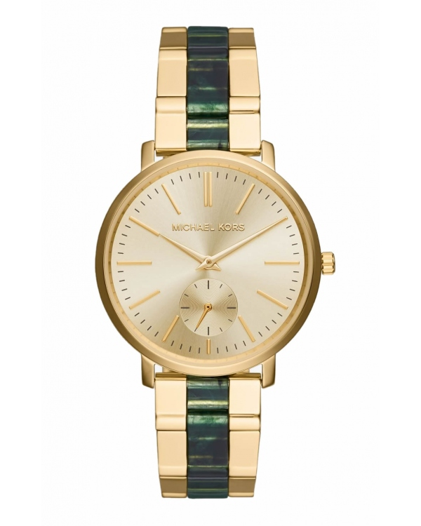 Часы Michael Kors Jaryn Gold-Tone And Acetate Watch MK3556