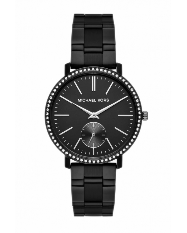 Часы Michael Kors Jaryn Black-Tone IP Watch MK3566