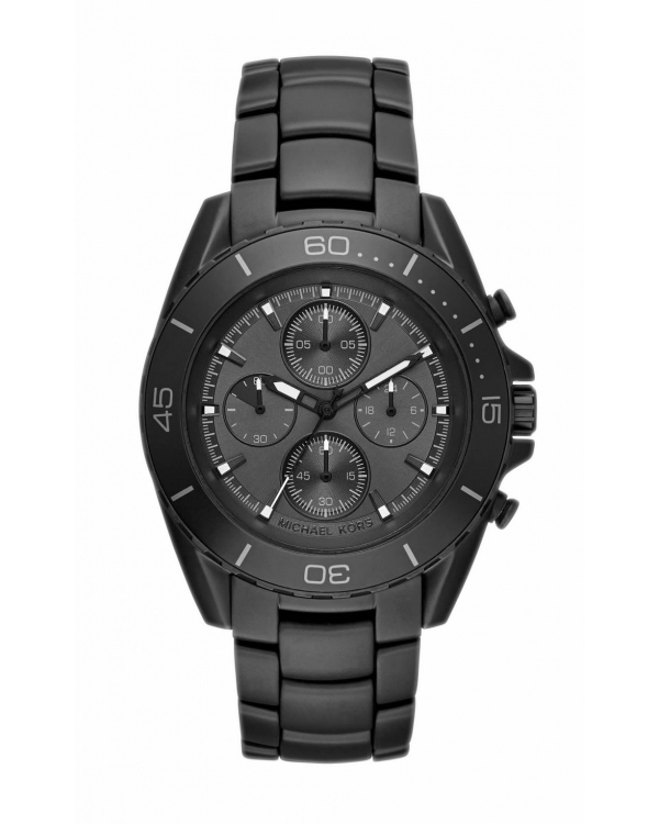 Часы Michael Kors JetMaster Black-Tone IP Watch MK8517