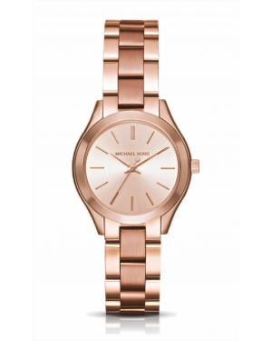 Часы Michael Kors Mini Slim Runway Rose Gold-Tone Watch MK3513